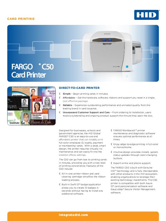 C50 Brochure