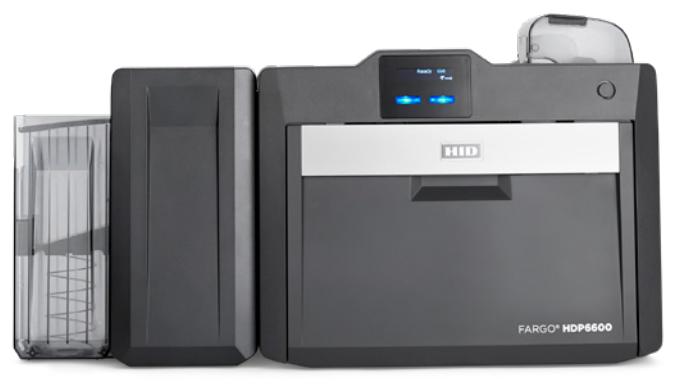 hdp6600 hid fargo id card printer  new  high volume
