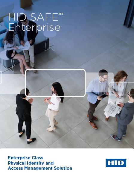 HID SAFE Enterprise Brochure Cover