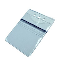 Badge Holder, DUO, Front Slide Insert size 3″ W x 4″ H