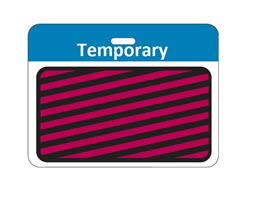 Time Expiring Back Part – TEMPORARY – Blue