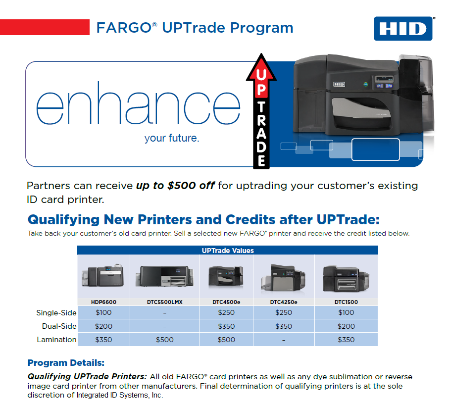 2020 Printer Trade In Trade Up Program