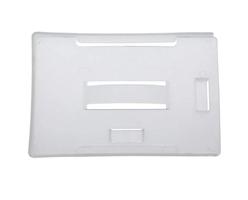 20030MW - Dual Orientation Rigid Plastic Badge Holder in Milky White
