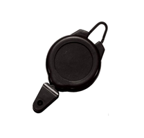 40030 - Ski/Sports Pass Flex Hook Badge Reel with Snap Closure